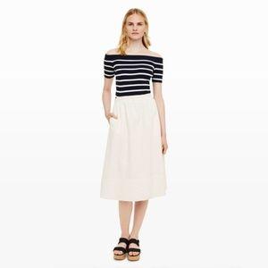 *coming soon* Club Monaco Linen Midi Skirt